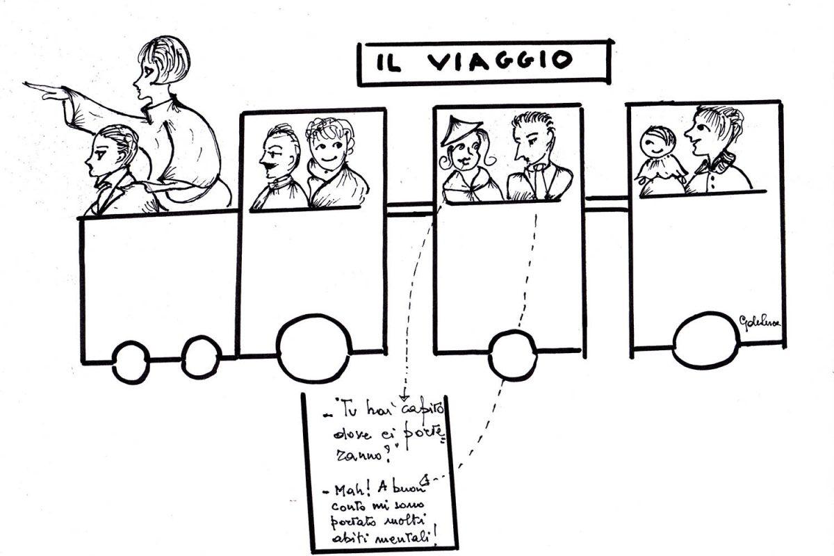 """""""Il viaggio"""" di Giovanna de Luca"""