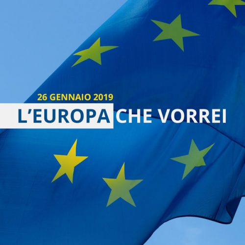 """Convegno """"L'Europa che vorrei"""""""